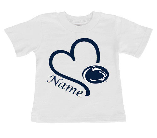 Penn State Nittany Lions Personalized Baby/Toddler T-Shirt