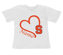 Syracuse Orange Personalized Baby/Toddler T-Shirt