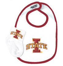 Iowa State Cyclones Bib and Socks Baby Set
