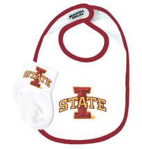 Iowa State Cyclones Bib and Socks Baby Set