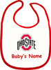 Ohio State Buckeyes Personalized 2 Ply Baby Bib