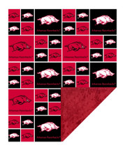Arkansas Razorbacks Baby/Toddler Minky Blanket