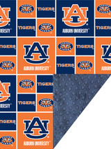 Auburn Tigers Baby/Toddler Minky Blanket