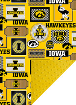 Iowa Hawkeyes Baby/Toddler Minky Blanket
