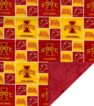 Iowa State Cyclones Baby/Toddler Minky Blanket