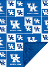 Kentucky Wildcats Baby/Toddler Minky Blanket