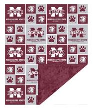 Mississippi State Bulldogs Baby/Toddler Minky Blanket