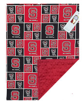 North Carolina State Wolfpack Baby/Toddler Minky Blanket