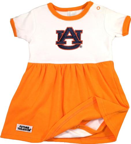 Auburn Tigers Baby Onesie Dress