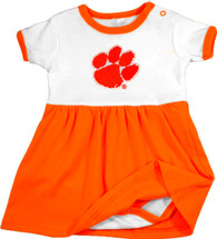 Clemson Tigers Baby Bodysuit Dress