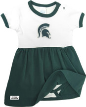 Michigan State Spartans Baby Onesie Dress