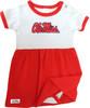 Mississippi Ole Miss Rebels Baby Onesie Dress