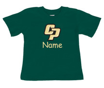 Cal Poly Mustangs Personalized Team Color Baby/Toddler T-Shirt