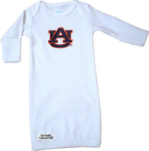 Auburn Tigers Baby Layette Gown