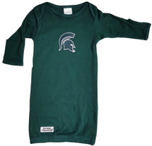 Michigan State Spartans Baby Layette Gown