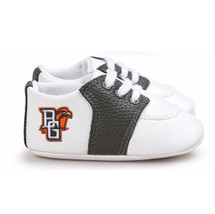 Bowling Green St. Falcons Pre-Walker Baby Shoes - Black Trim