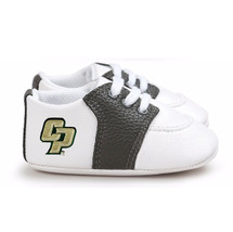 Cal Poly Mustangs Pre-Walker Baby Shoes - Black Trim