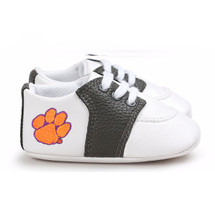 Clemson Tigers Pre-Walker Baby Shoes - Black Trim