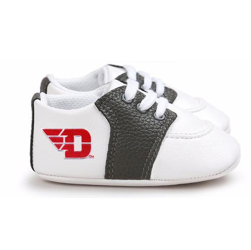 Dayton Flyers Pre-Walker Baby Shoes - Black Trim