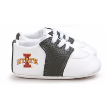 Iowa State Cyclones Pre-Walker Baby Shoes - Black Trim