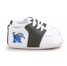 Memphis Tigers Pre-Walker Baby Shoes - Black Trim