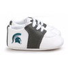 Michigan State Spartans Pre-Walker Baby Shoes - Black Trim