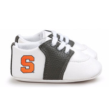 Syracuse Orange Pre-Walker Baby Shoes - Black Trim