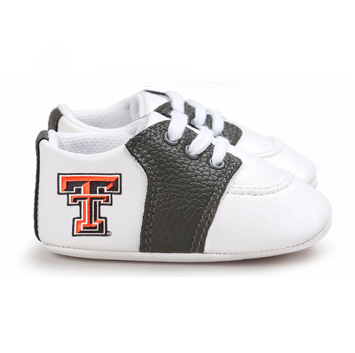 Texas Tech Red Raiders Pre-Walker Baby Shoes - Black Trim