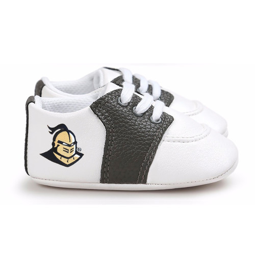 UCF Knights Pre-Walker Baby Shoes - Black Trim