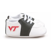 Virginia Tech Hokies Pre-Walker Baby Shoes - Black Trim