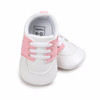 Dayton Flyers Pre-Walker Baby Shoes - Pink Trim