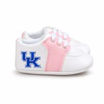 Kentucky Wildcats Pre-Walker Baby Shoes - Pink Trim