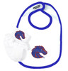 Boise State Broncos Baby Bib and Socks with Lace Set