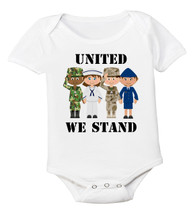United We Stand American Pride OHT Baby Bodysuit