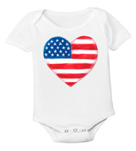 American Heart OHT Baby Bodysuit