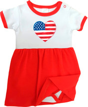 American Heart OHT Baby Bodysuit Dress