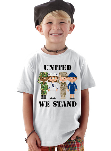 United We Stand American Pride OHT Baby/Toddler TShirt