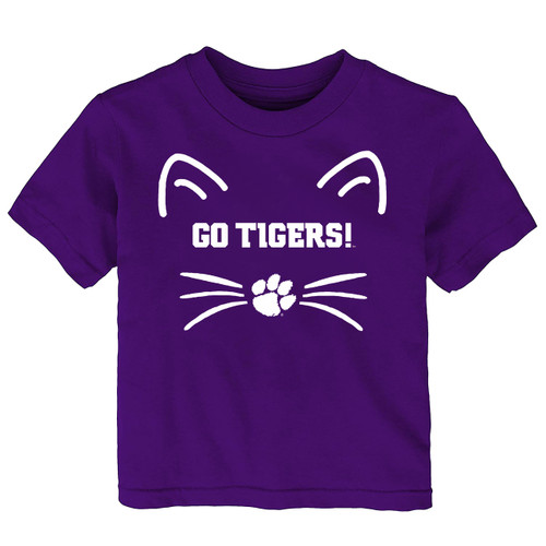 Clemson Tigers Go Tigers Baby/Toddler T-Shirt