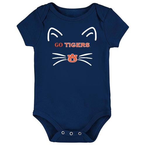 Auburn Tigers Go Tigers! Baby Bodysuit