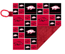 Arkansas Razorbacks Baby/Toddler Minky Lovey