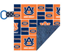 Auburn Tigers Baby/Toddler Minky Lovey