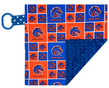 Boise State Broncos Baby/Toddler Minky Lovey