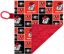 Georgia Bulldogs Baby/Toddler Minky Lovey