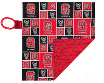 North Carolina State Wolfpack Baby/Toddler Minky Lovey