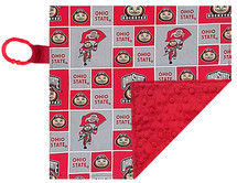Ohio State Buckeyes Baby/Toddler Minky Lovey
