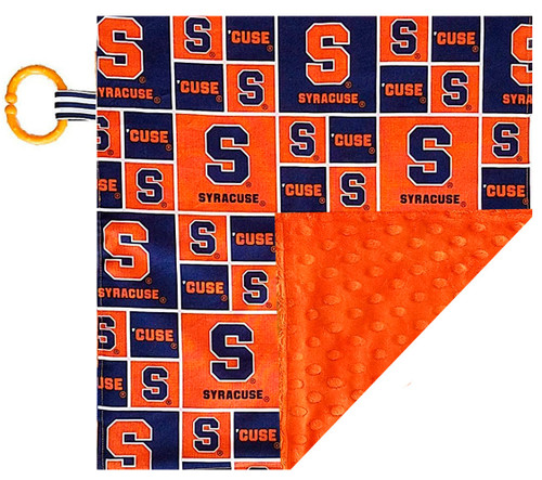 Syracuse Orange Baby/Toddler Minky Lovey