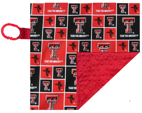 Texas Tech Red Raiders Baby/Toddler Minky Lovey