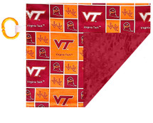 Virginia Tech Hokies Baby/Toddler Minky Lovey
