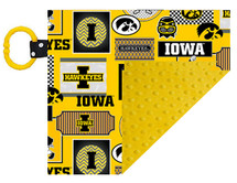 Iowa Hawkeyes Baby/Toddler Minky Lovey