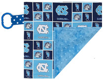 North Carolina Tar Heels Baby/Toddler Minky Lovey